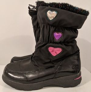 Grils winter boots